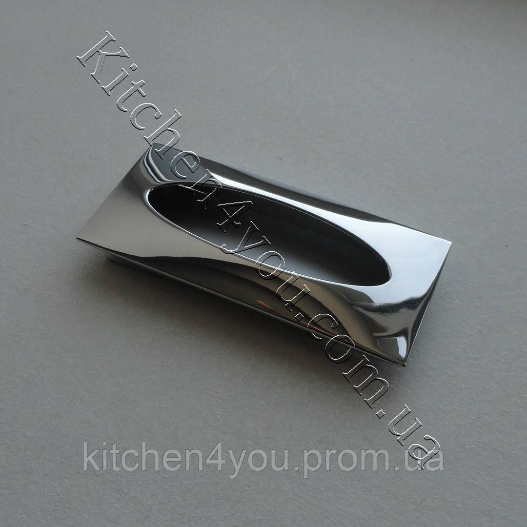 Ручка мебельная, врезная Cebi 165096 МР02 PL05 хром - kitchen4you в Харькове
