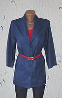 Стильный Легкий Пиджак-Рубашка Размер: 56-XXL