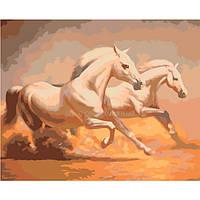 Картина по номерам Роспись на холсте Дикий запад КН2428 40*50 см