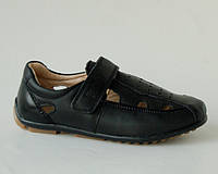 Туфли для мальчиков ТОМ.М 5231А черный (Размеры: 31-38)