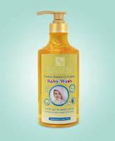 Шампунь без слез и гель для душа для малышей  780 мл, израильская косметика Health&beauty