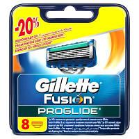 Сменные картриджи  для бритья Gillette Fusion ProGlide (8 шт.)