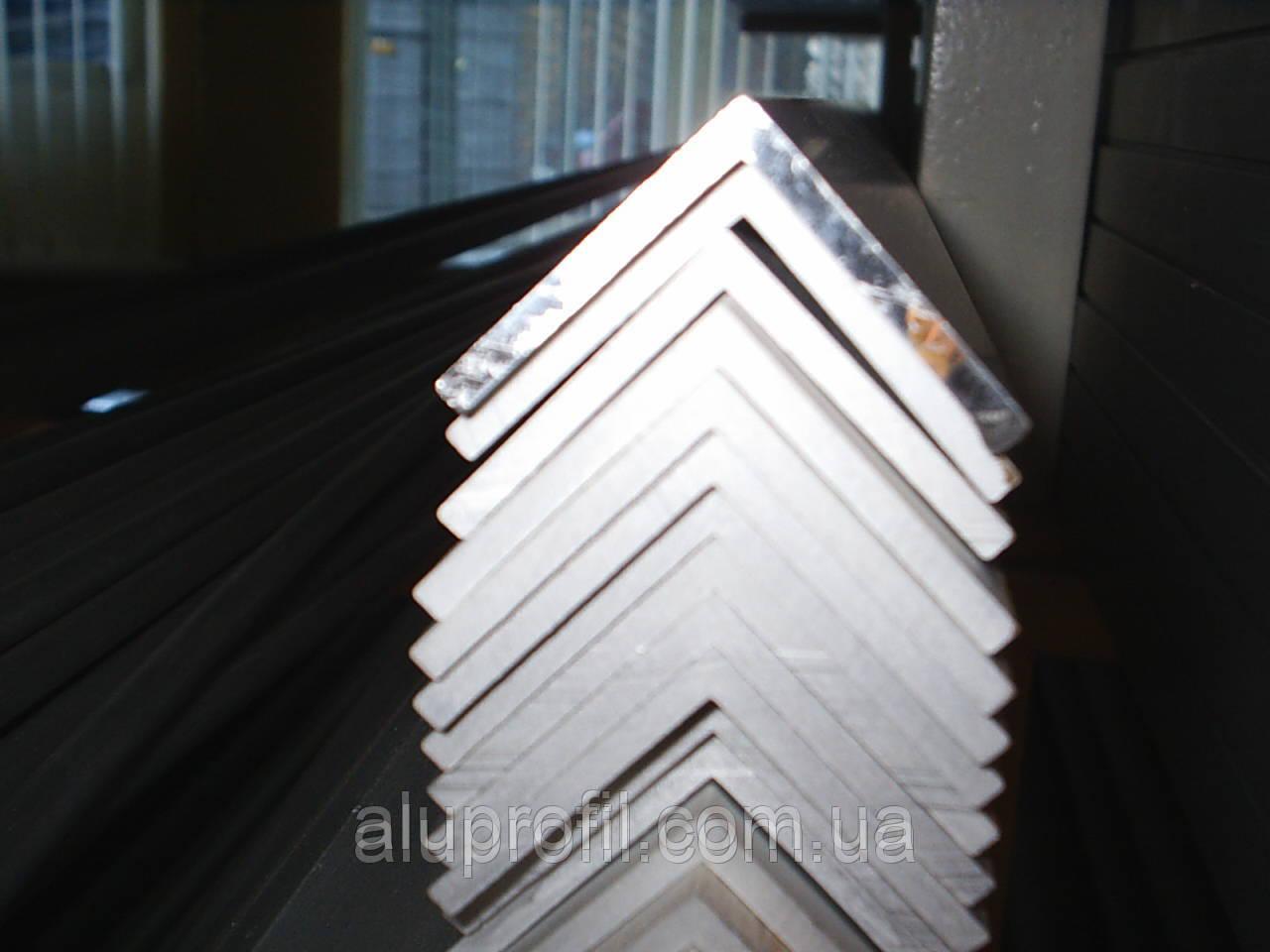 Алюминиевый профиль — уголок  размером 50х50х2