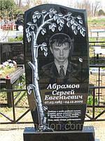 Памятник из гранита Берёзка