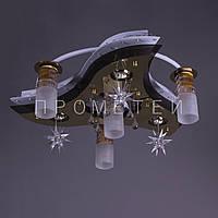 """Люстра """"космос"""" с LED подсветкой на пульте управления P6-6522\7/FGD"""