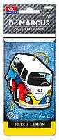 Освежитель воздуха автомобильный Dr. Marcus Funky Car Fresh Lemon