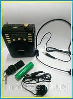 Громкоговоритель для гида ATR-31 с петличным и головный микрофоном