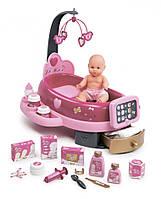 Игровой центр Baby Nurse Smoby по уходу за куклой с пупсом и аксессуарами (220317)