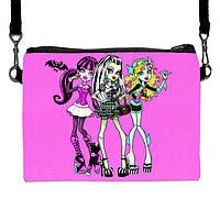 Детская сумочка для девочки с принтом Monster High