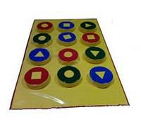 Игровой коврик -тренажер «Топтышка» обучающий для детей