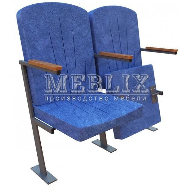 Кресла для актовых залов КЛАССИК-ЗЕТ с креплением к полу