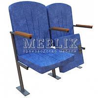 Кресла для актовых залов КЛАССИК-ЗЕТ с креплением к полу, фото 1