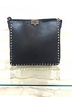 Женская сумка кожаная черная большая вместительная  Leather country Италия