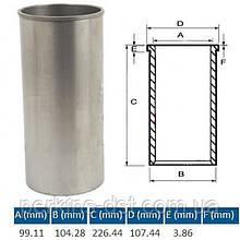 Гильза блока цилиндров под расточку 6I0164UF для двигателя Caterpillar 3054, Запчасти Caterpillar
