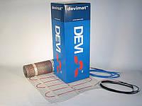 Нагревательный мат двухжильный DEVI comfort 150T  1,0 м.кв. 150W (под плитку)