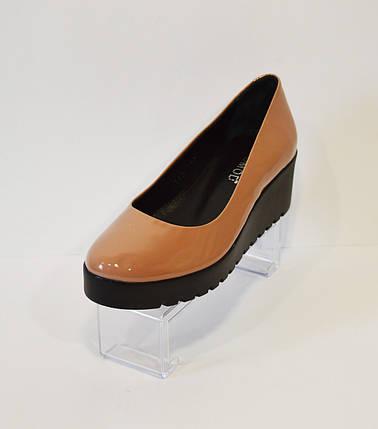 Туфли женские розовые Estamod 142, фото 2