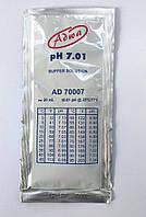 Готовый калибровочный раствор ADWA AD70007 для РН-метров РН 7,01±0,01 Венгрия. 20 ml
