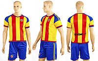 Форма футбольная детская CO-3900-VAL-1 VALENCIA гостевая (PL, р-р S-XL, желтый-синий)