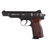 Пневматический пистолет Gletcher APS BB Blowback Пистолет Стечкина АПС