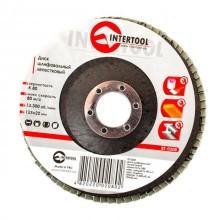 Круг Пелюстковий Торцевій Internool 125мм * 22,23 мм * Р150