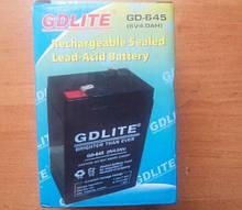 Батарея аккумуляторная  6 В -  4 Аh  GDLITE GD-645