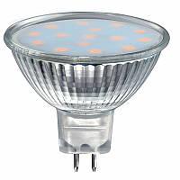 Светодиодная лампа SVOYA LED-201, MR16 (3W), 3000K, GU 5.3