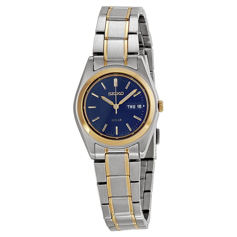 Часы женские Seiko Solar Blue Dial SE-SUТ110