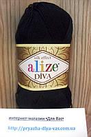 Летняя акриловая пряжа (100% микрофибра акрил, 100г/350м) Alize Diva 60
