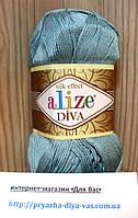 Летняя акриловая пряжа ( 100% микрофибра акрил, 100г/350м) Alize Diva 463