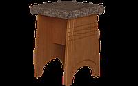 Табурет кухонный, одноместный, размер 46х34х34 см, мягкий с фрезеровкой модель Нова
