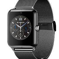 UWatch Умные часы Smart Z50 Black(+Гарантия)