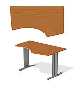 Стол офисный угловой Техно-плюс Т1.72.16