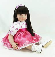 Роскошная кукла Иванка, реборн, 61см, мягконабивная, в подарочной упаковке