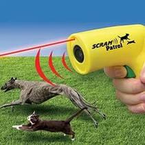 Ультразвуковой отпугиватель собак с лазером Scram Patrol Sonic Animal Chaser JB546, фото 3
