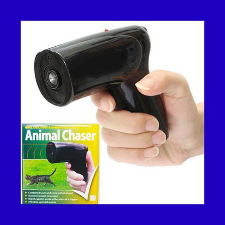 Ультразвуковой отпугиватель собак с лазером Scram Patrol Sonic Animal Chaser JB546, фото 2