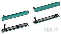 Aksline Комплект боковых заглушек Sony D5803 Xperia Z3 Compact Mini / D5833 Xperia Z3 Compact Mini Green