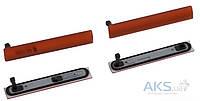 Aksline Комплект боковых заглушек Sony D5803 Xperia Z3 Compact Mini / D5833 Xperia Z3 Compact Mini Orange