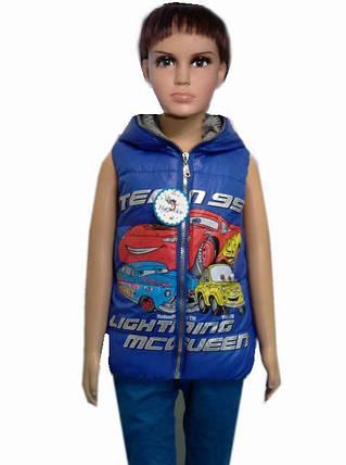 Детская жилетка тачки маквин, фото 2