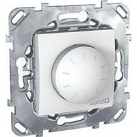 Светорегулятор поворотно-нажимной Schneider Unica MGU5.511.18ZD Белый