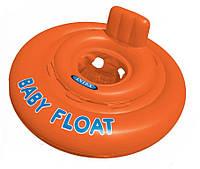 Круг - плот надувной детский для плавания, 1-2 года, 76 см INTEX 56588