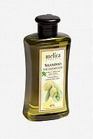 Органический шампунь для окрашенных волос с УФ-фильтрами и экстрактом оливок