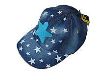 Джинсовая кепка Звездочка
