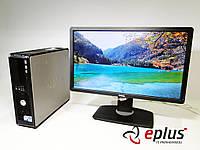 ПК Dell Optiplex 760 + Dell P2212H TN бу