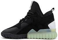 Мужские кроссовки Adidas Tubular x Black