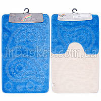 "Комплект ковриков для ванной ""Blue eye"""