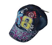 Джинсовая кепка К8