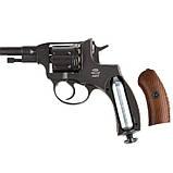 Пневматический револьвер GLETCHER NGT NAGANT НАГАН, фото 5