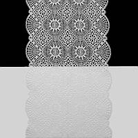 Кружево Франция арт. 375 белое, 19 см.