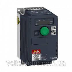 ATV320U04N4C Преобразователь частоты  Altivar 320 0.37 кВт 3-ф 380В