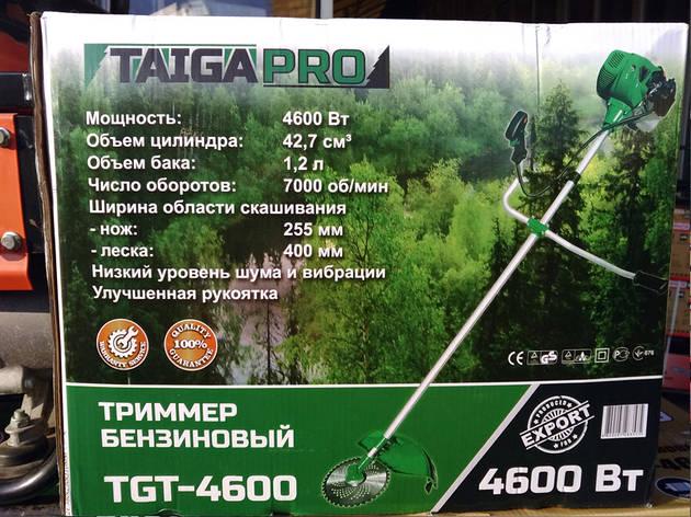 Мотокоса Тайга TGT-4600Pro, фото 2